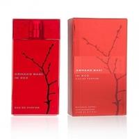 In red eau de parfum
