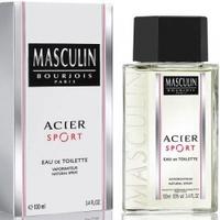 Masculin Acier Sport