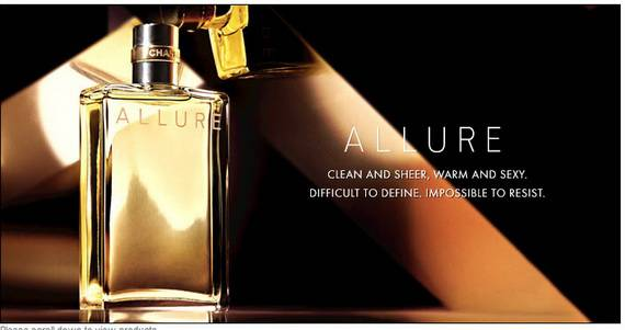 Chanel Allure Commercial